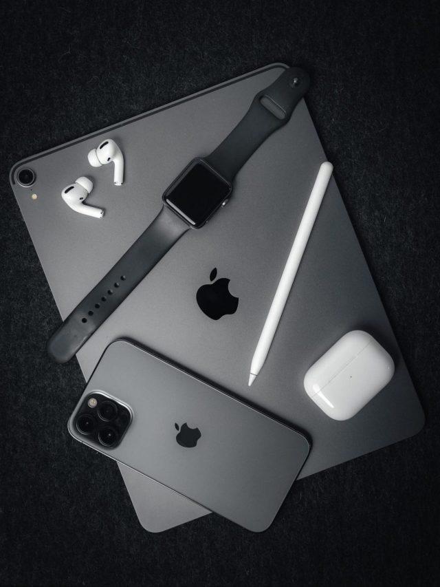 mobile, tablet, watch, earpods