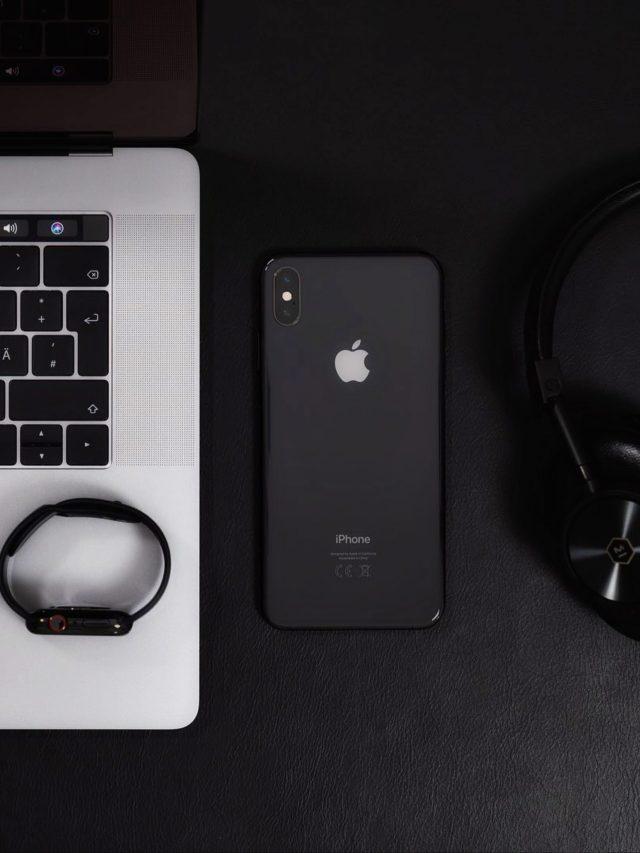 mobile, watch, laptop, headphones