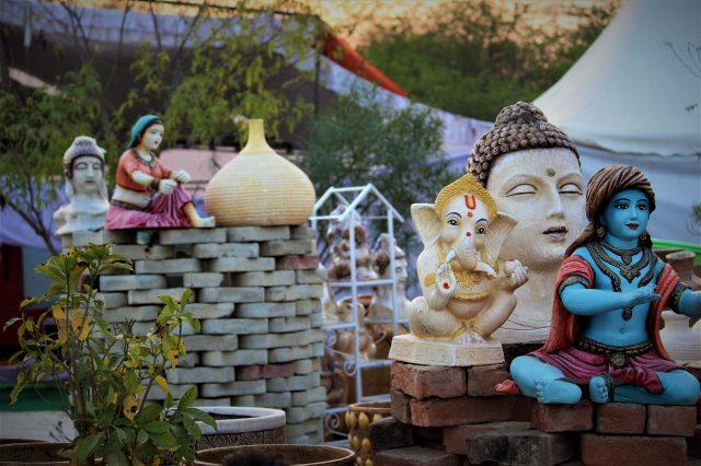 Statue of Hindu Gods
