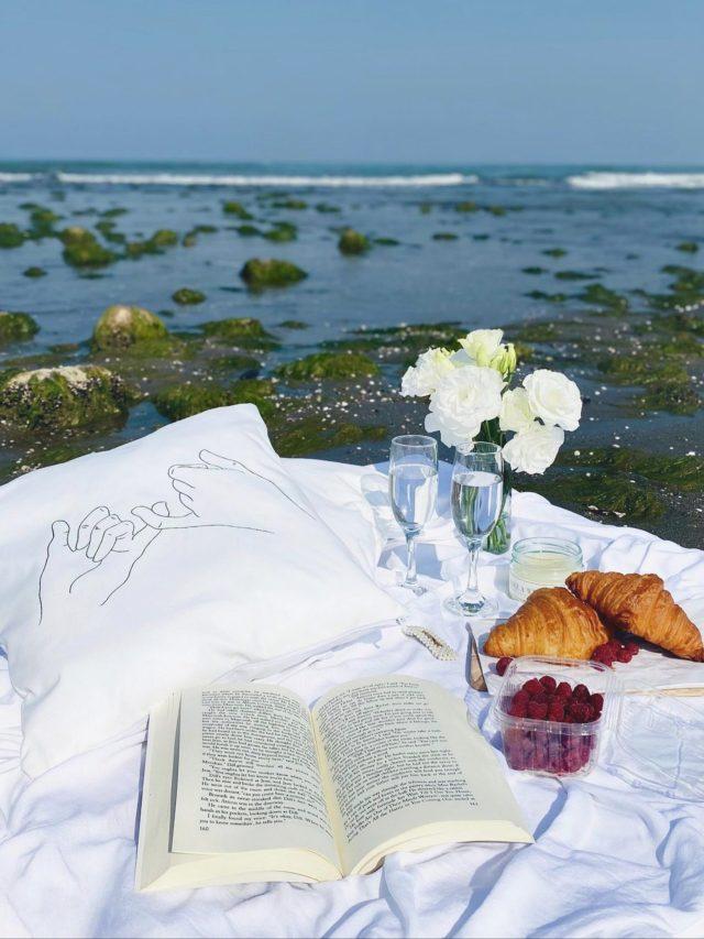 A table at a beach