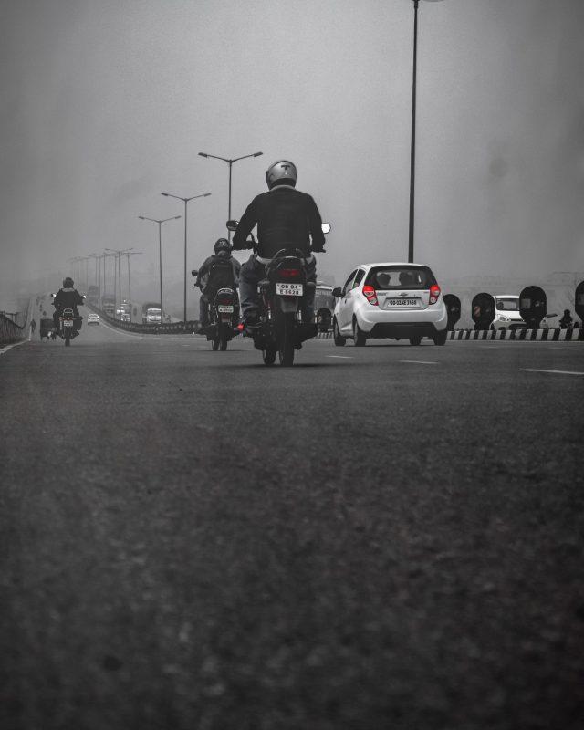 Fog and traffic