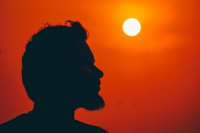 Head towards sun