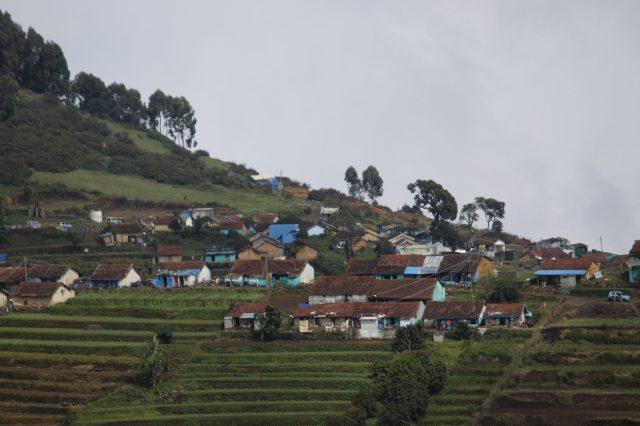 A hill town