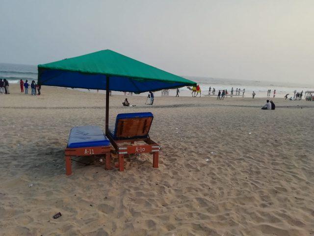 Beach site view