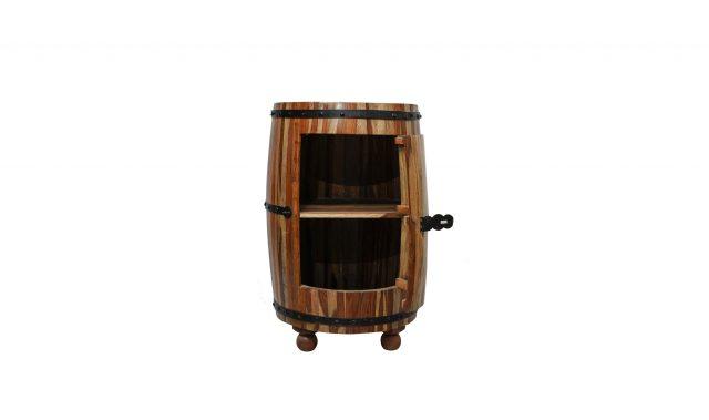 Wooden Round Rack