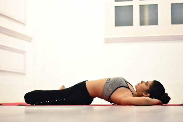 fish pose matsya asana