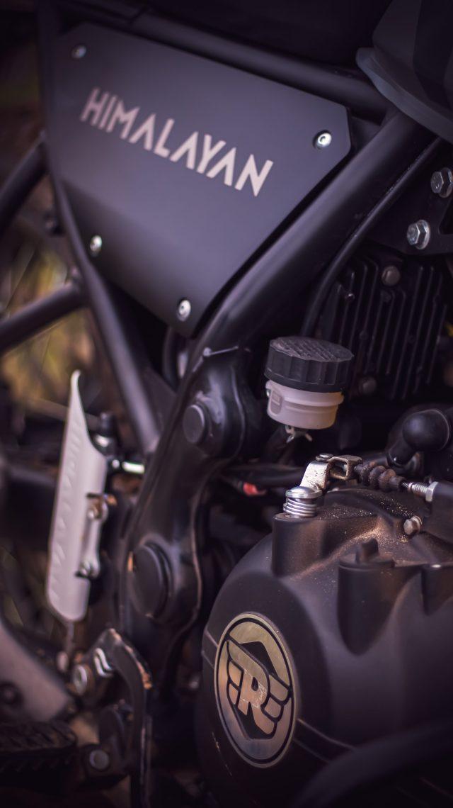 Himalayan bike engine