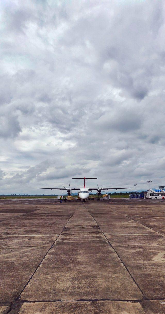 Private Aircraft at Imphal Airport