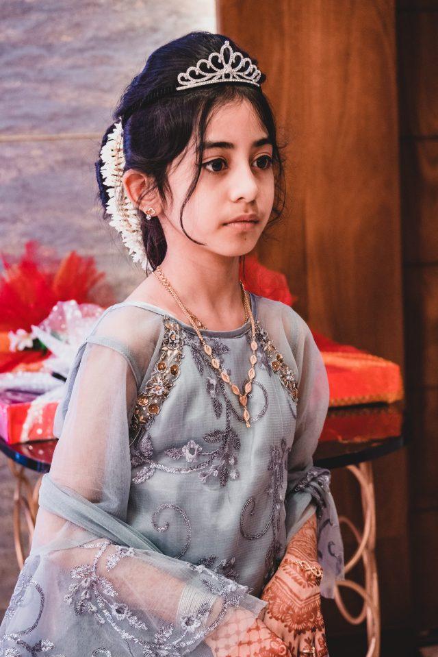 A stylish Indian girl