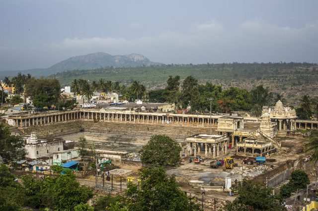 A view of Melukote Town in Karnataka