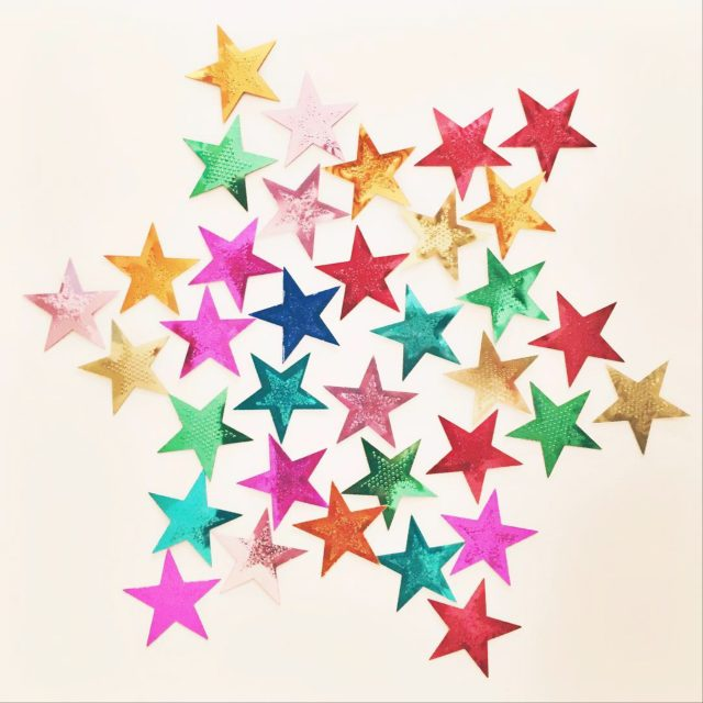 Star made with stars