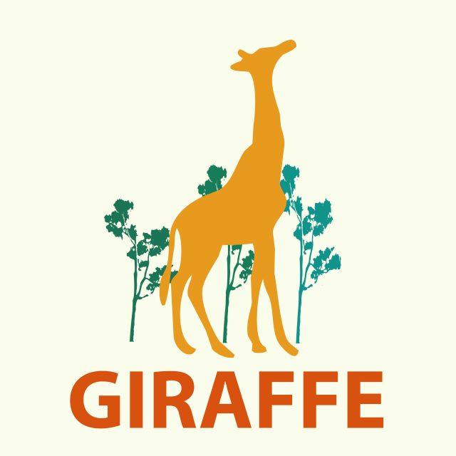 A giraffe illustration