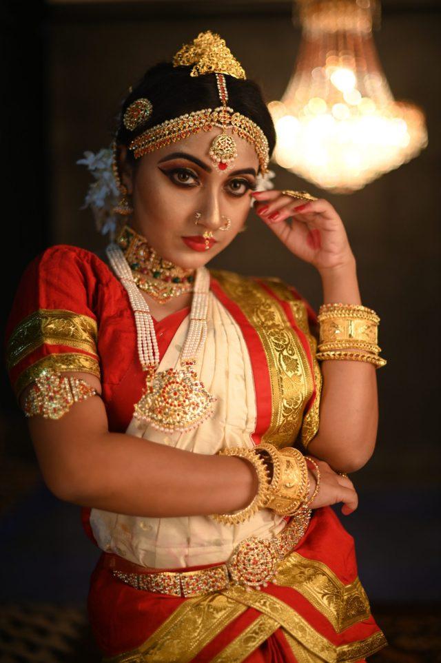 Indian fashion girl