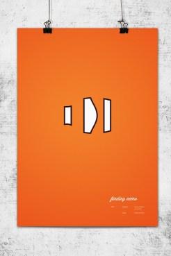 Pixar Poster by Wonchan Lee - Finding Nemo