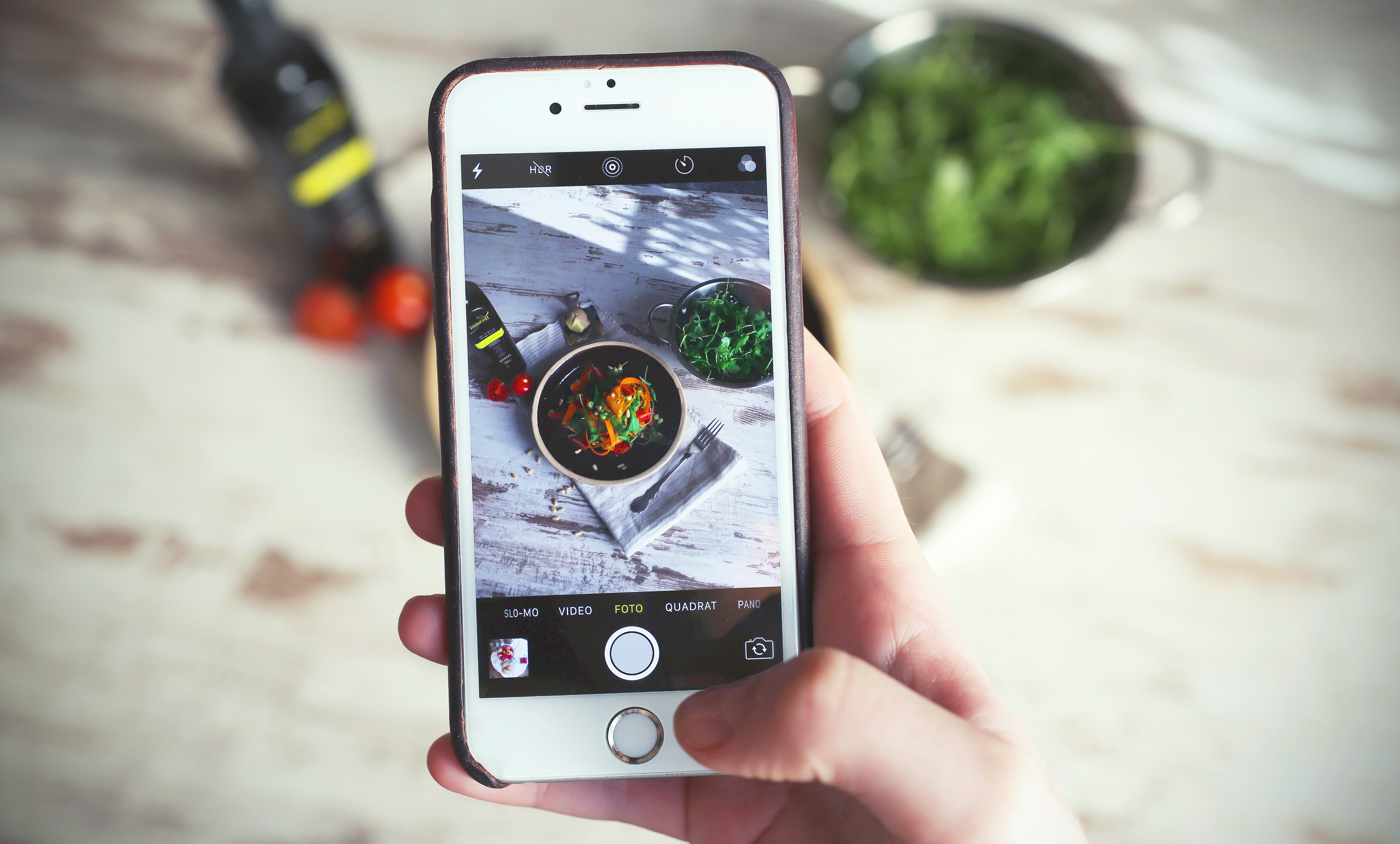 Examples of Product Photography on Mobile Phone