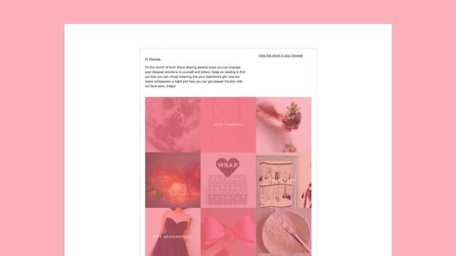 Black Widow Balm email blast design & development