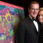 Roger Moore with wife Kristina 'Kiki' Tholstrup