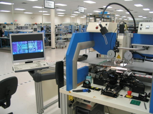 LCD Assembly Lines, LCD Repair Lines, & LCD Optical Bonding Lines