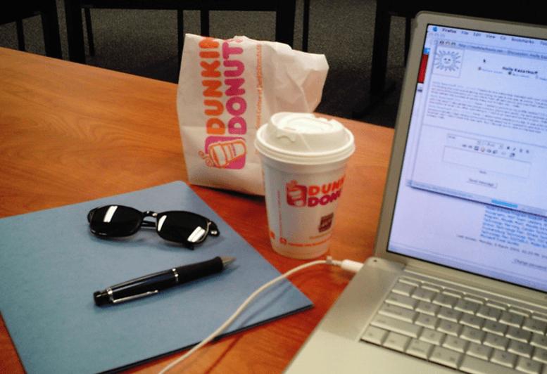 Dunkin Donuts Wifi