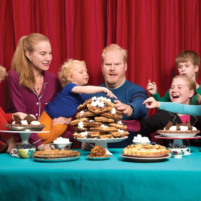 Dominique Ansel Threw An Epic Pie And Waffle Fest For Cronut Superfan Jim Gaffigan His 5 Kids