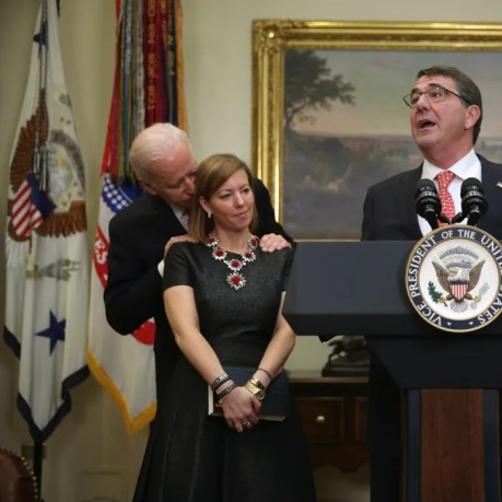 Image result for joe biden touching women
