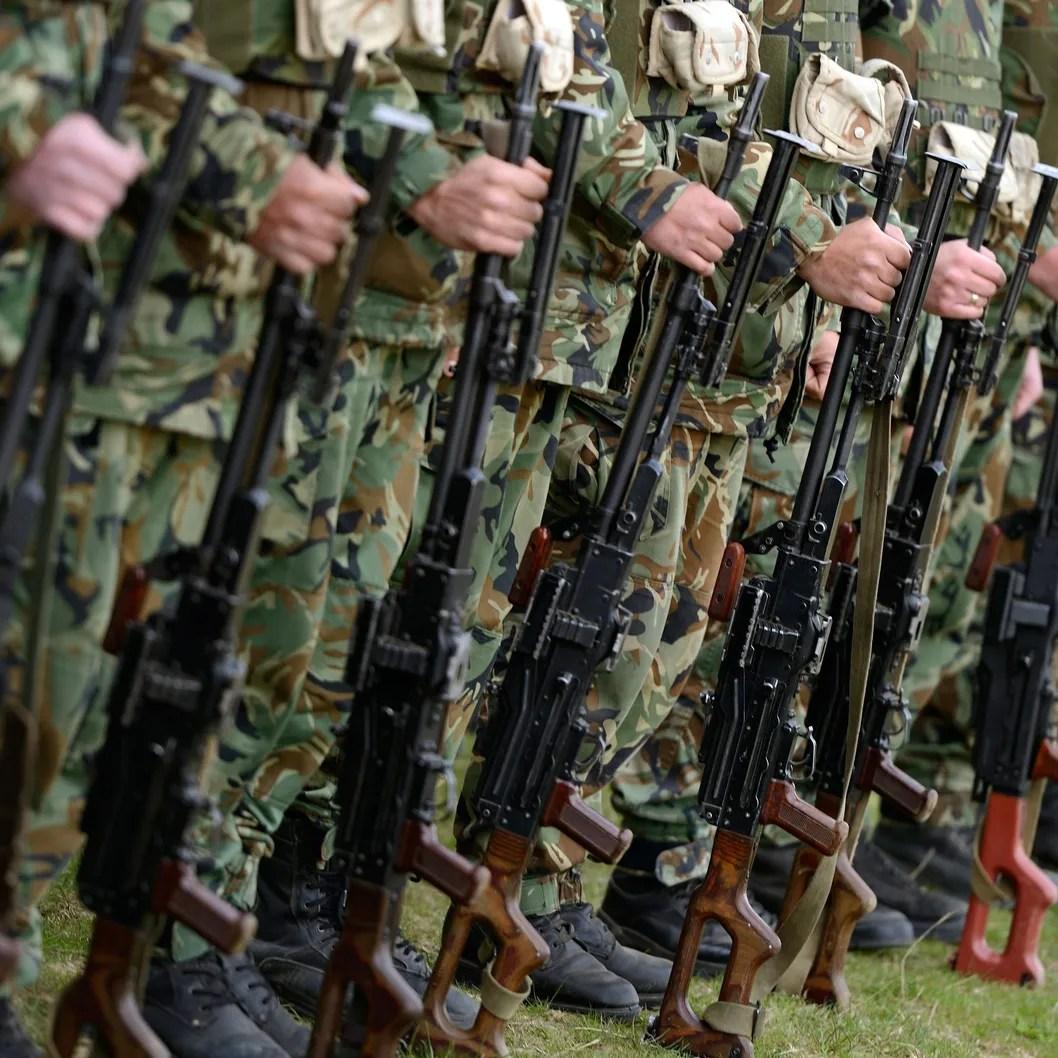 Joint Bulgarian US military training