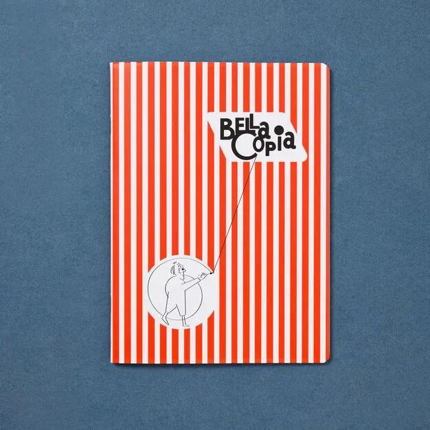 Bella Copia A5 Unlined Notebook