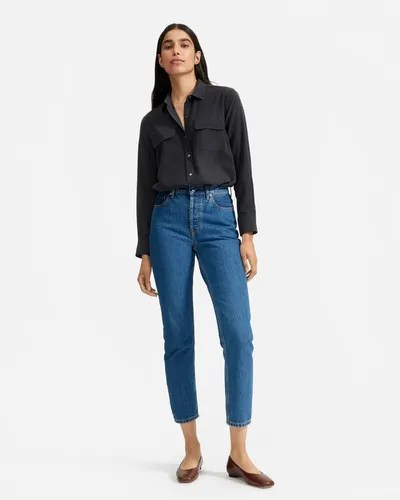 Everlane Washable Silk Relaxed Shirt