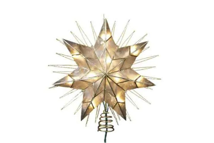 Light Up Christmas Tree Toppers