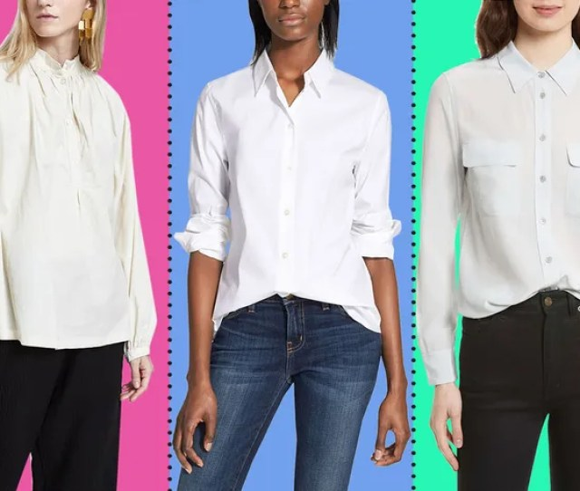 We Talked To A Bunch Of Stylish Women About The Best White Button Down Shirts Theyve Ever Found These Are Their Picks From The Oversized To The Slightly