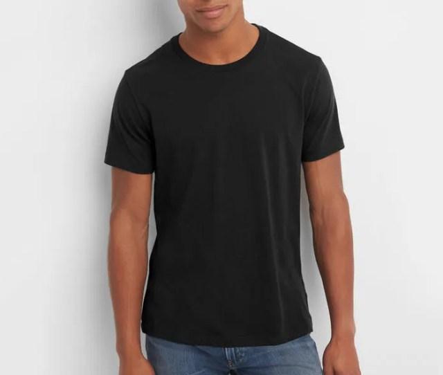 Gap Mens Essential Short Sleeve Crewneck T Shirt