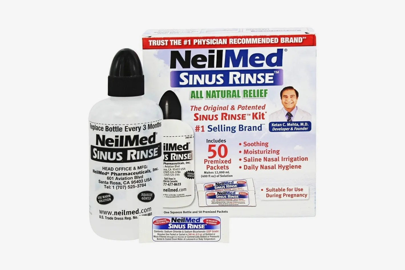 7 Best Neti Pots And Sinus Rinses For Allergies 2018