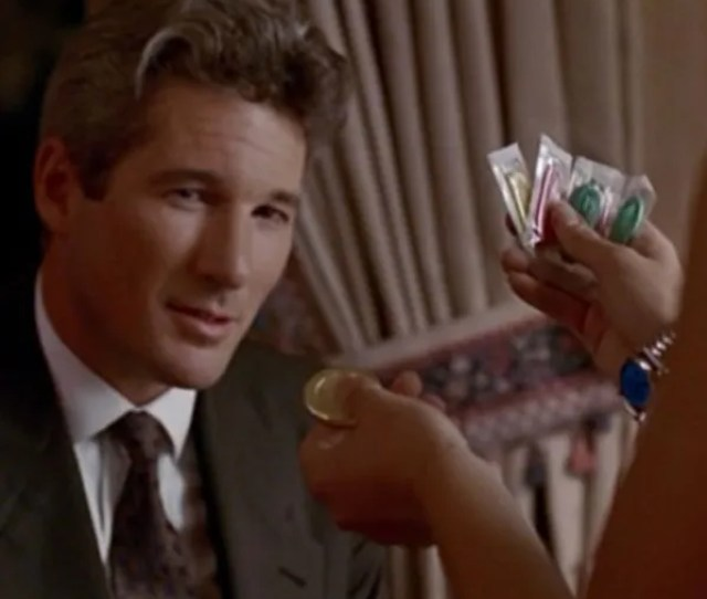 Richard Gere And Julia Roberts Going Over Condom Choices In Pretty Woman The Strategists Post