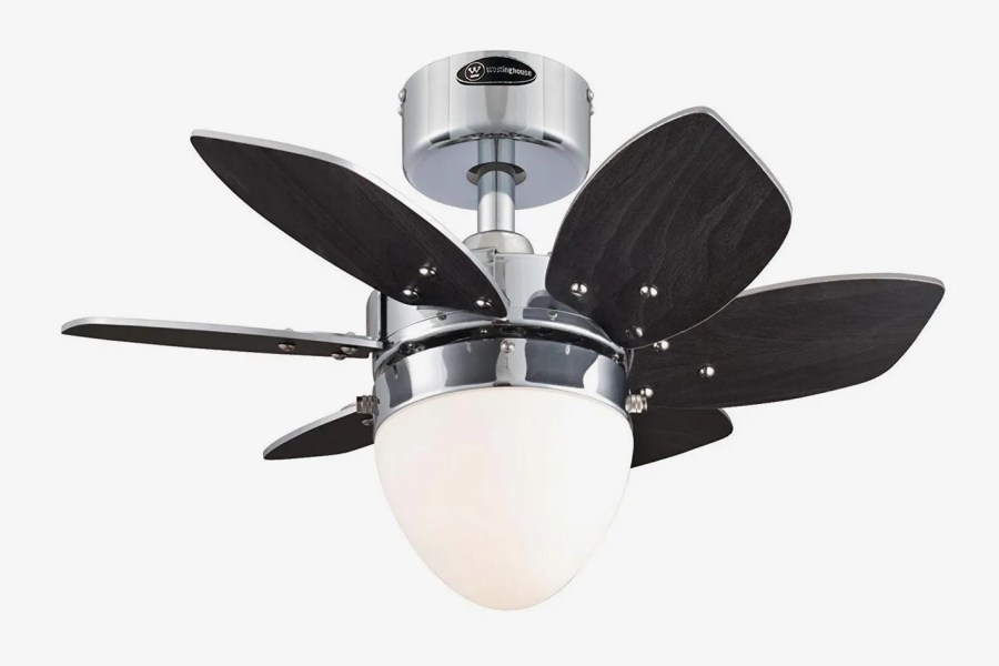 The 9 Best Ceiling Fans on Amazon 2018 Westinghouse Origami Single Light 24 Inch Reversible Six Blade Indoor Ceiling  Fan