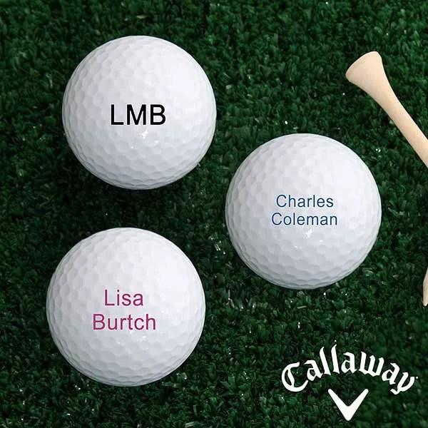 Callaway HEX Diablo Personalized Golf Balls
