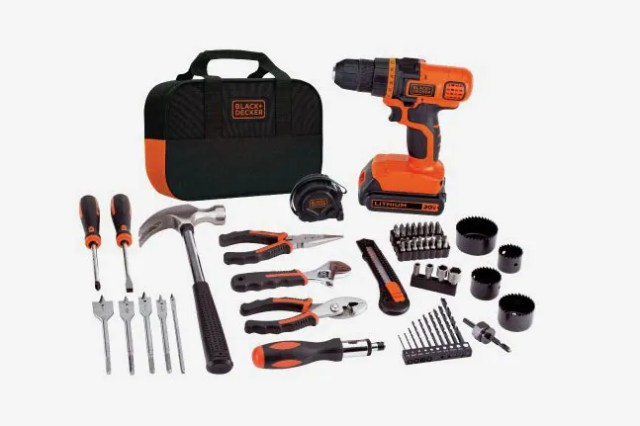 Black & Decker Lithium Drill and Project Kit