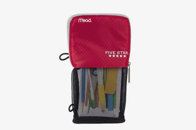 Five Star Stand N Store Pencil Pouch
