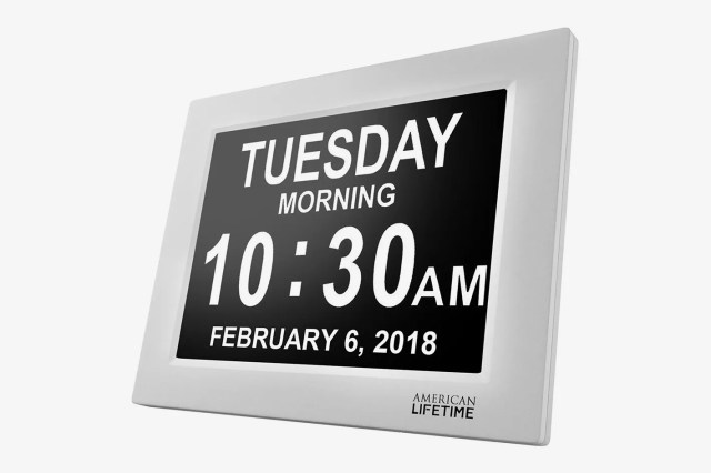 American Lifetime [Newest Version] Day Clock