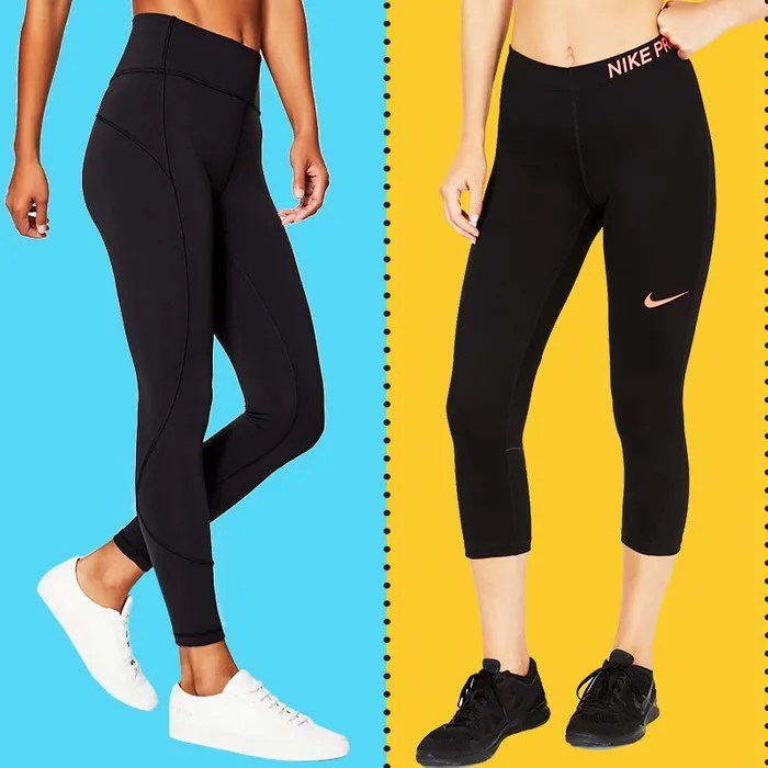 Bent Over In Yoga Pants