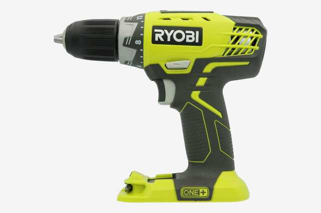 Ryobi P208 One+ 18V Lithium Ion Drill/Driver with 1/2 Inch Keyless Chuck