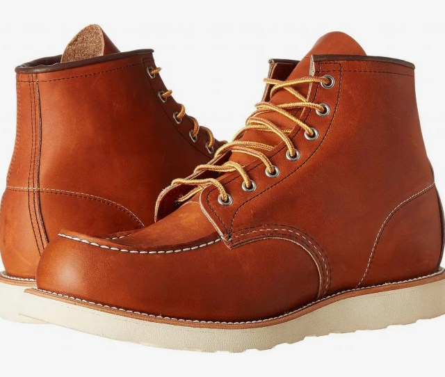 The Best Work Boot Red Wing Heritage   Moc Toe