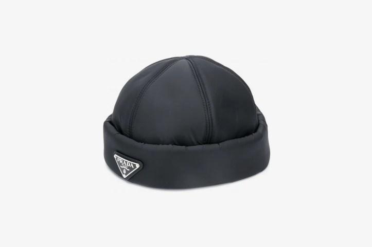 Prada Padded Beanie Hat