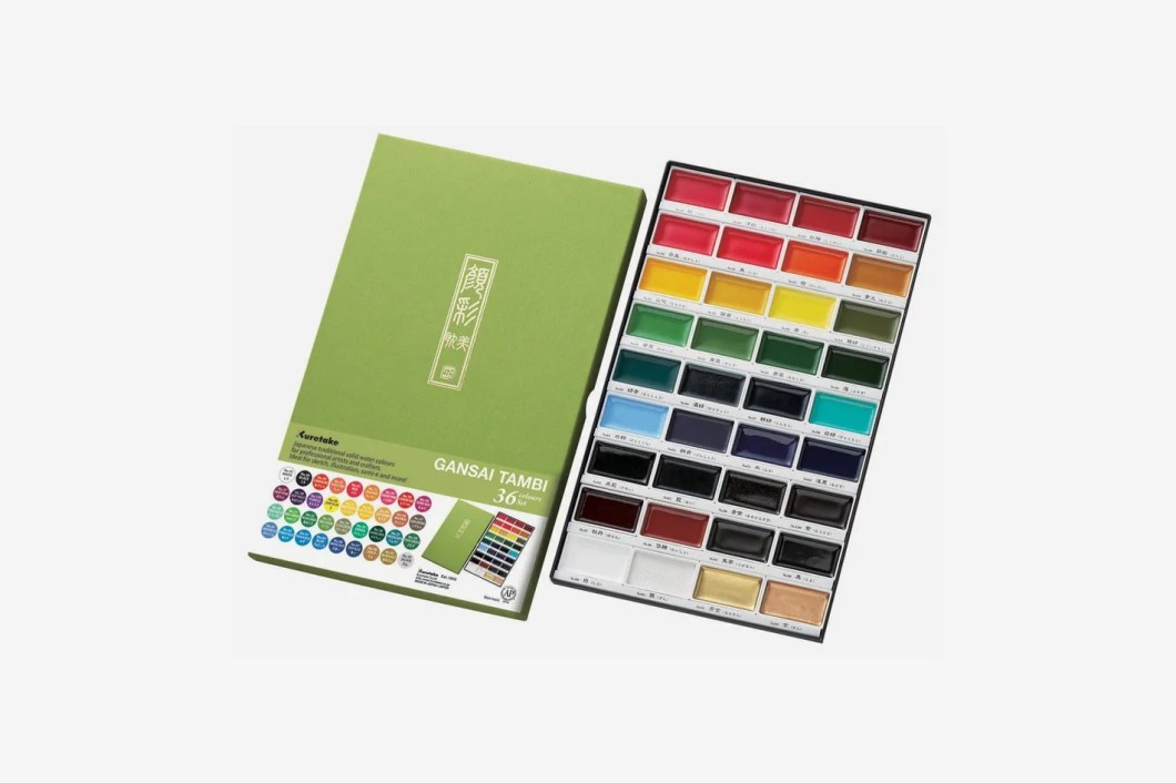 Kuretake MC2036V Gansai Tambi 36 Color Set