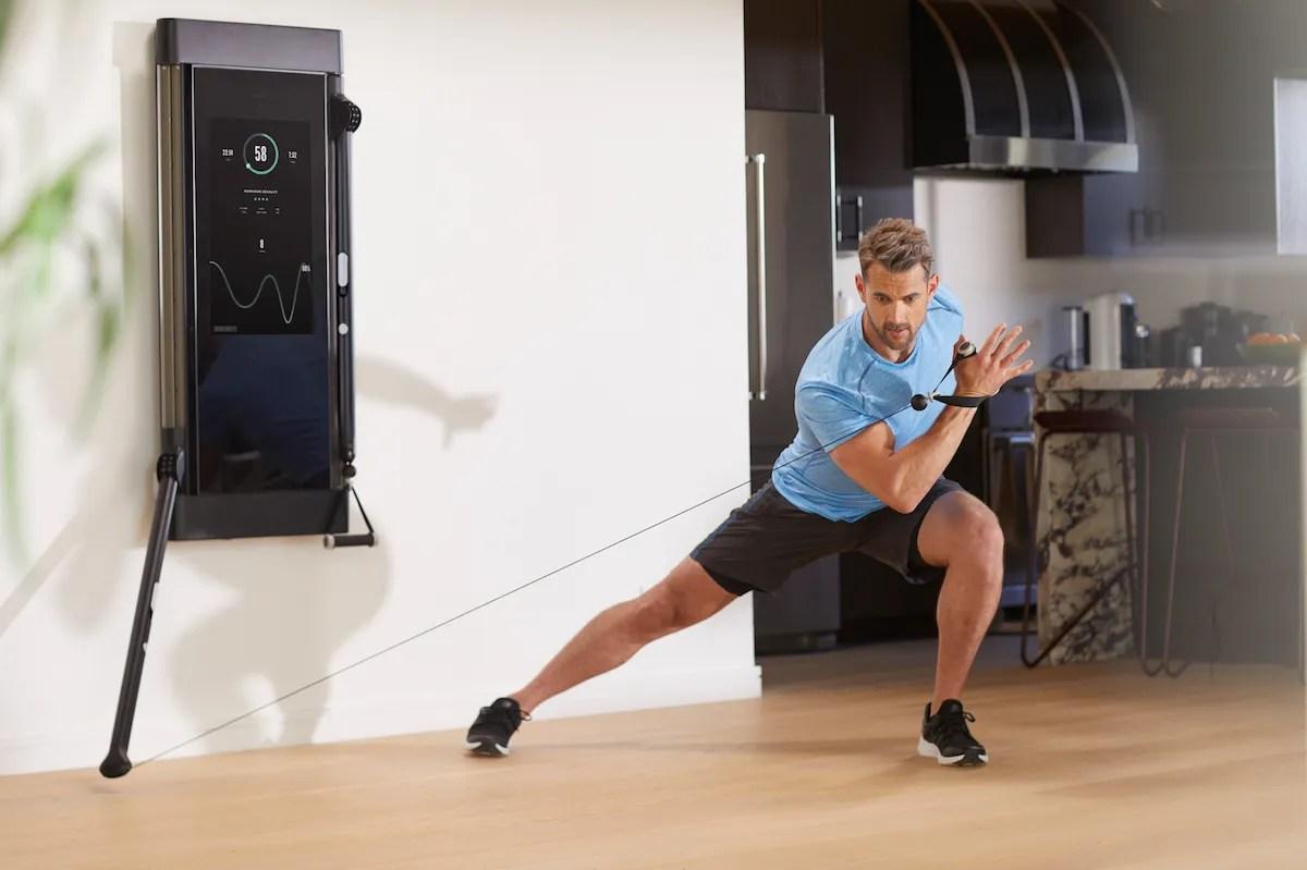 Smart Home Gym Equipment Review Mirror Tonal Peloton 2019