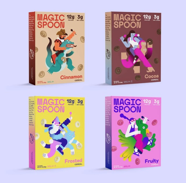 Magic Spoon Variety Pack (4 Boxes)