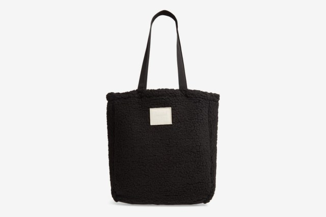 Herschel Supply Co. Fleece North/South Tote, Black