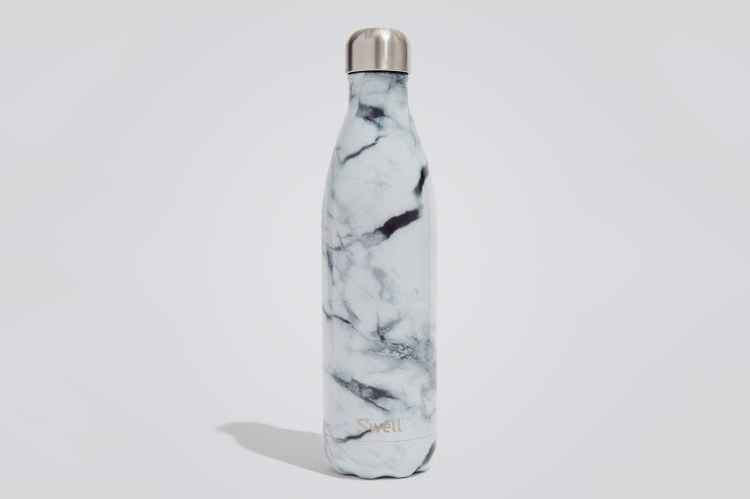 S'Well 25 Oz. Water Bottle, White Marble