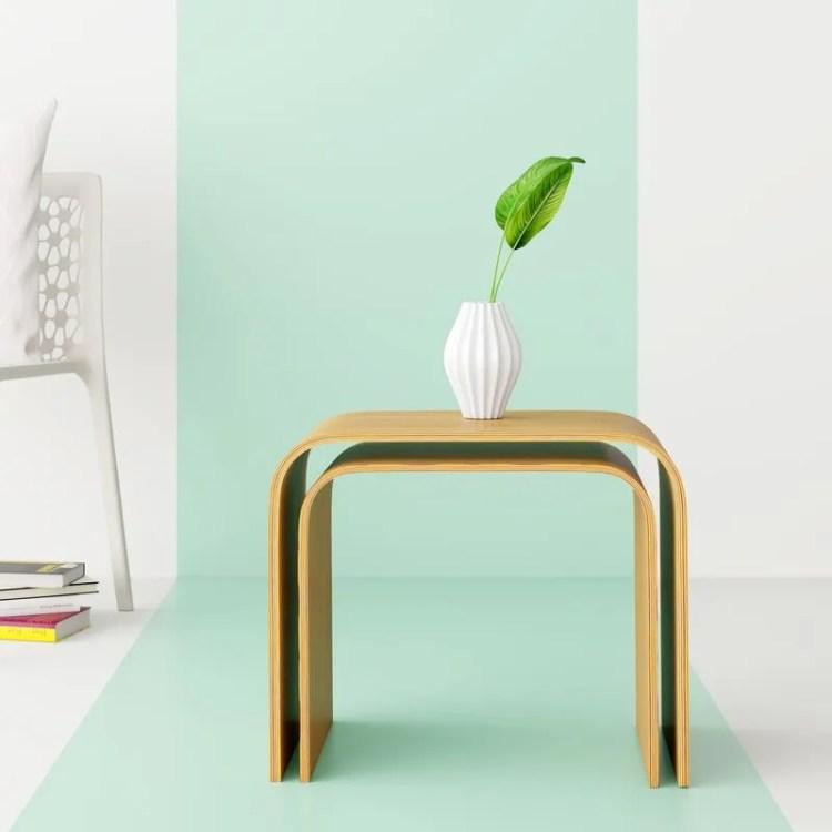 Kiril Bentwood Nesting Tables