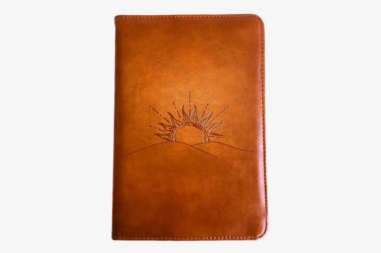 SohoSpark Faux Leather Sunrise Journal