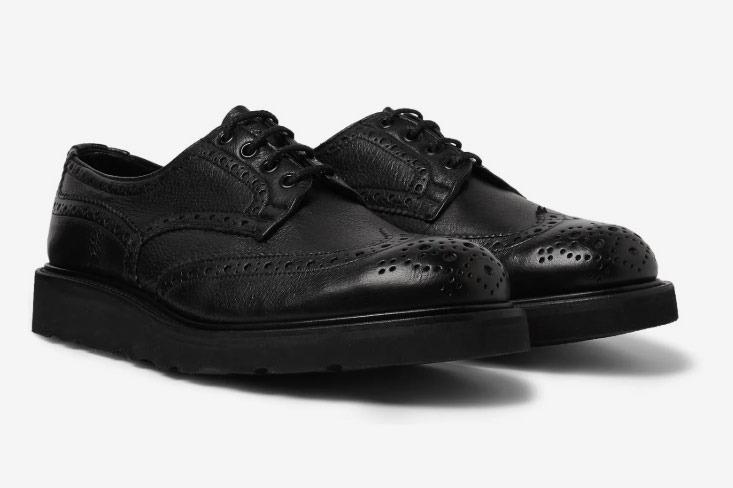Tricker's Bourton Full-Grain Leather Brogues